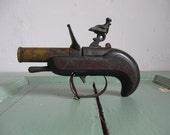 Vintage Dunhill Dueling Pistol Table Lighter 1930s RARE