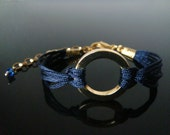 The Gable Collection Bracelet No.5 - Beautiful Gold Circle Chain Jewelry