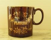 Florida Souvenir Mug 1970s