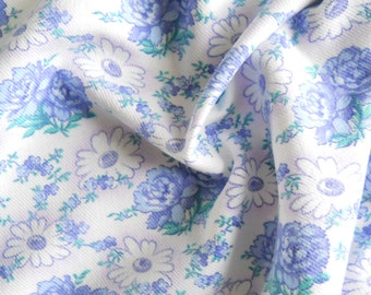 floral vintage fabric antique fabric lilac flowers french fabric lilac floral fabric quilting fabric patchwork fabric cotton 78