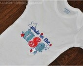Made in the USA Bodysuit/Tee