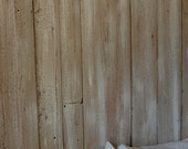 The Molly Reclaimed White Barnwood Queen Star Headboard