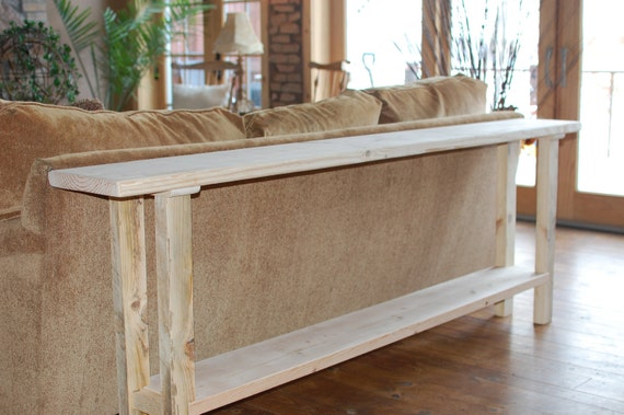 Unfinished Sofa/Entry Table- shipping is Free