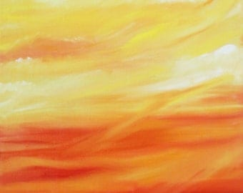 Glorious Sky- original oil painting