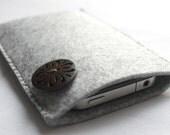 iPhone 4 Sleeve 100% wool Felt