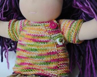 PDF PATTERN Darling Little Side Button Sweater