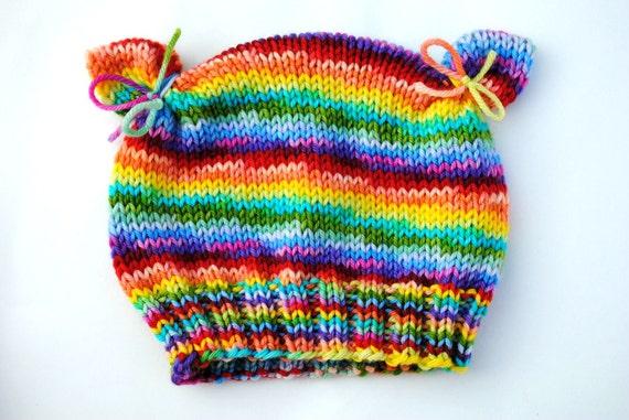 PDF PATTERN Darling Little Kitty Hat