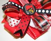 University of Louisville Cardinals Girls Hair Bow
