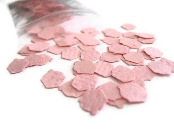 Soft Pale Pink Cupcake Confetti: 200 Mini Cupcakes