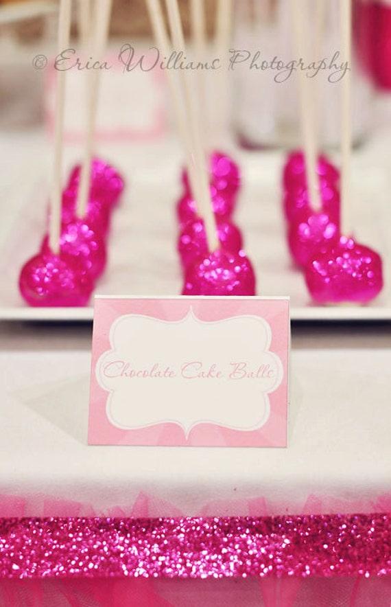 1 dozen Glitter Cake Pops