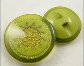 Plastic buttons-(6pcs,1.2 inch or 1.0 inch)Fluorescence buttons,eight color and tuo size can be chosen