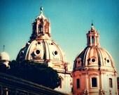 Domes - Rome Italy - Roma - Europe - 5x7 Fine Art Photograph