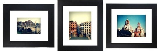 """3 Piece Set """"Rome Collection"""" - 4x6 Fine Art Photograph - Rome Italy - Europe"""