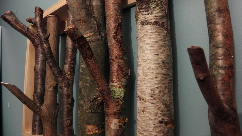 tree branch coat rack made to order. Black Bedroom Furniture Sets. Home Design Ideas
