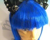 Handmade HUMAN size punk lolita, nekomimi nosplay headband