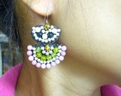 Fancy earring hoop