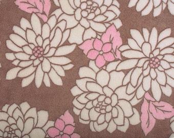 MarBella Rosa Floral Cuddle Minky Fabrick - 1 yard