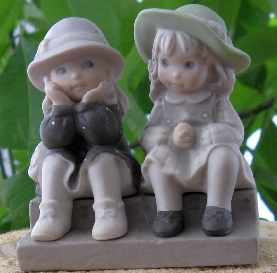 "KIM ANDERSON Figurine - ""We're Two Of A Kind"""