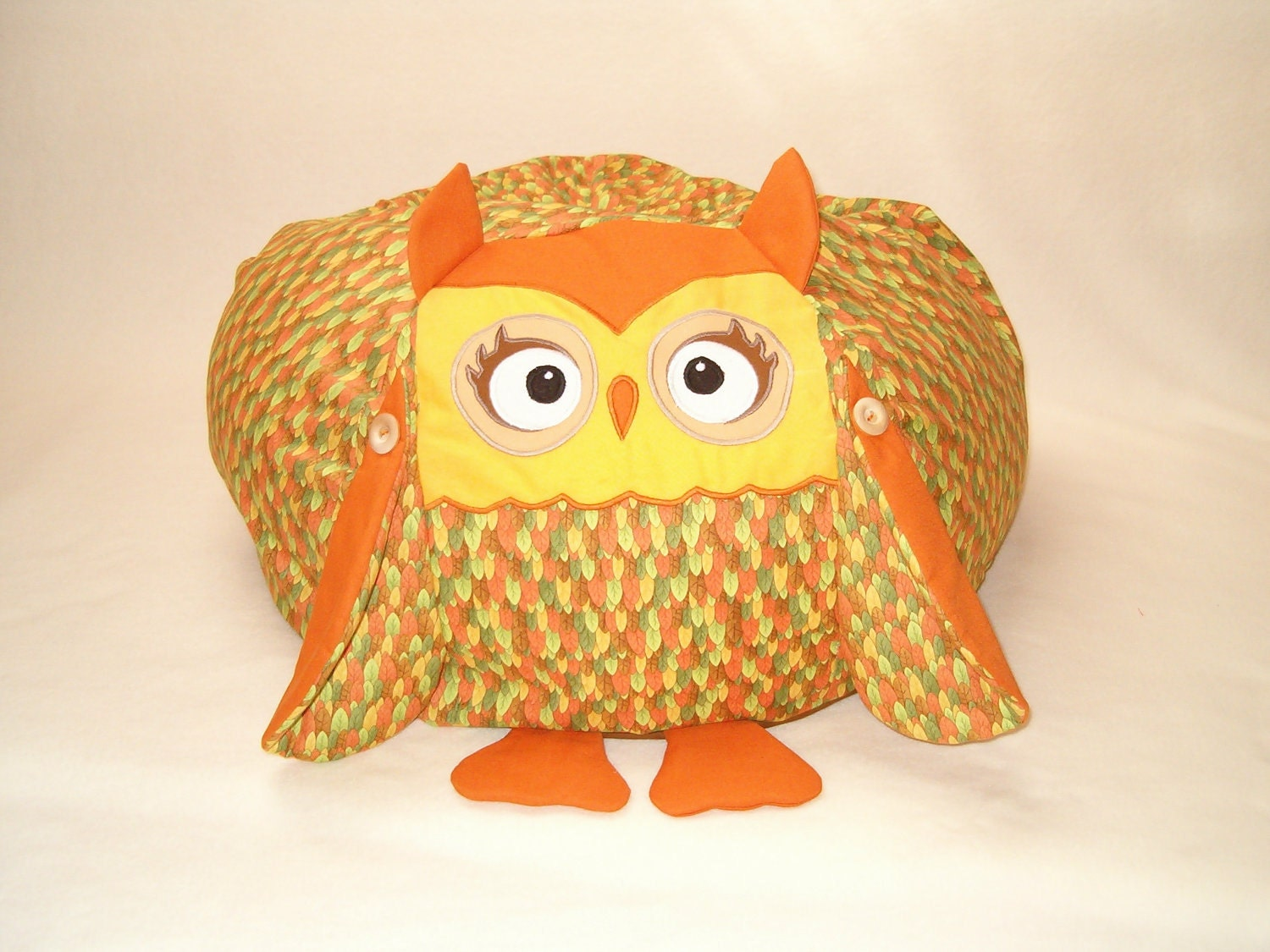 Owl Bean Bag Chair Cover Filling Is Not Included Het