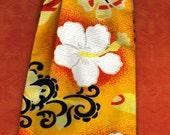 Dog Tie Tropical Flowers