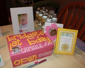 Personalized Custom Birthday Time Capsule Box