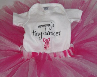 Mommy's Tiny Dancer Outfit