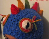 Happy Dragon Hat Pattern