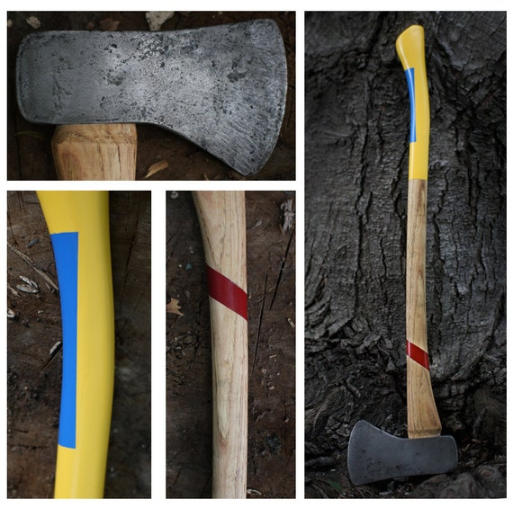 Restored American Felling Axe- The Nauticus II