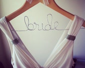 "Bridal hanger - ""Bride"""