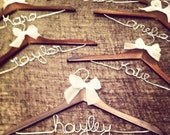 Bridal Party Hangers - Set of 6 (discounted)