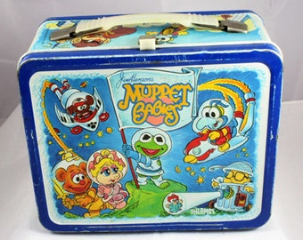 1985 Jim Henson's Muppet Babies Lunchbox