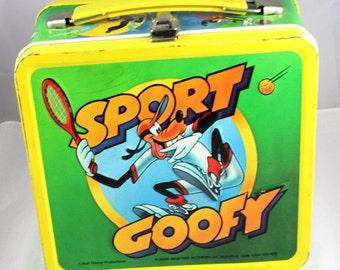 1983 Sport Goofy Lunchbox