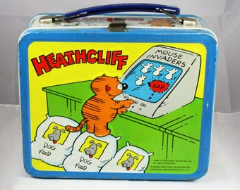 1982 Heathcliff Lunchbox No Thermos