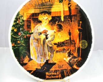 Norman Rockwell 1979 Christmas Plate