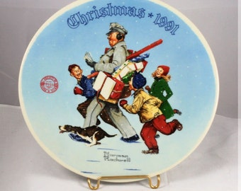 Norman Rockwell Collector Plate 1991