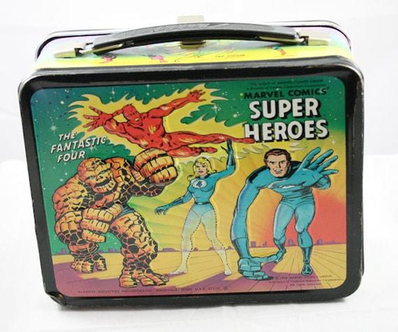 1976 Super Heroes Metal LunchBox