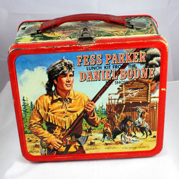 1965 Fess Parker and Daniel Boone Lunchbox