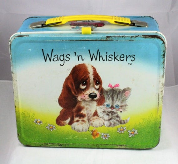 1978 Wags and Whiskers Lunchbox