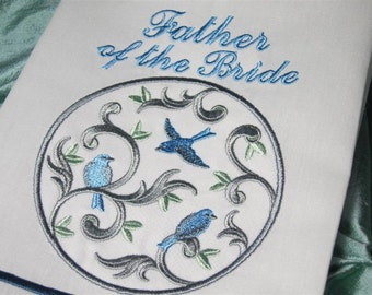 Father of the Bride Linen Guest Towel