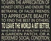To Laugh Often by Ralph Waldo Emerson 20 x 30 Subway Style Poster