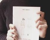 """Comic journal - zine (Italian language): """"Cose stupide che succedono a persone stupide"""""""