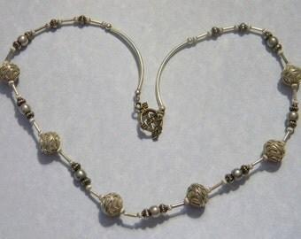 Bali Silver Necklace