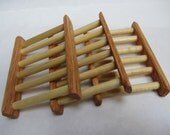Handcrafted  Hardwood Soap Dish