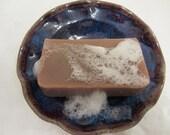 Sensual Sandalwood Bar Soap - Shea Butter - Natural