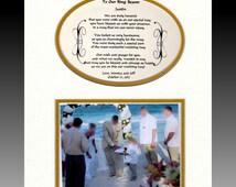 Wedding Ring Bearer Personalized Gift