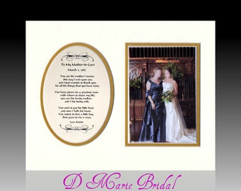 Wedding Personalized  To My Mother In Law from bride groom bridal party wedding favor thank you