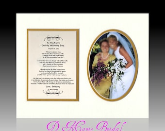 Mother of the Bride Personalized Wedding  gift Thank you bride groom wedding bridal favor