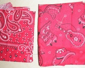 Bandana Fabric - Three Patterns