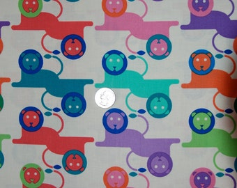 Free Spirit fabric LIONS from Zoo Menagerie Collection