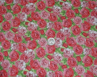 Avlyn fabric PINK ROSES